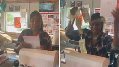 A daughter delivered a heartfelt birthday surprise to her mom.