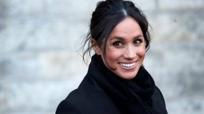 Meghan Markle is seen in January 2018.