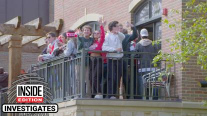 Experts say students can be especially vulnerable partying on decks and balconies while at college.