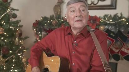"In 1965, Johnny Gondesen wrote and recorded an original Christmas song. He called it ""Christmas Is Here."" He released it on a 45 record but no radio station would ever play it."