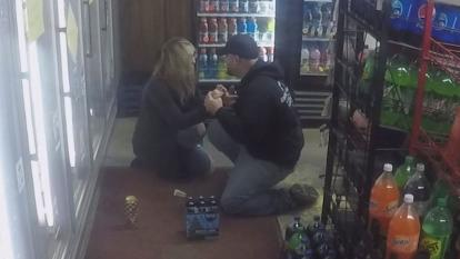 Ray Giuliano and his then-girlfriend were shopping at a convenience store in Boston, New York, a town in Erie County, when something happening at the cash register caught their eye.