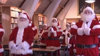 Santa school is a great way to become more apart of the holiday season.