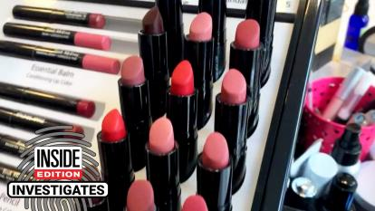 Used lipsticks