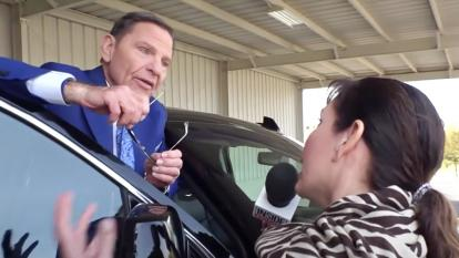 Inside Edition's investigation on Kenneth Copeland by Lisa Guerrero is one of the three stories that have won a Clarion Award.