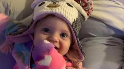 The body of missing baby Evelyn Boswell was found in March.
