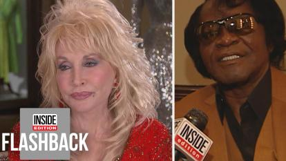 Dolly Parton and James Brown