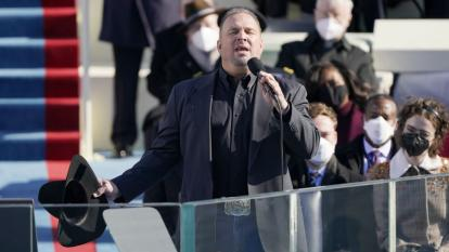 Garth Brooks was criticized online for performing at President Joe Biden's swearing-in ceremony.
