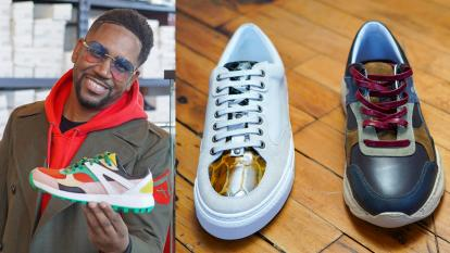 Man Launches Luxe Sneaker Business He Envisioned in Prison