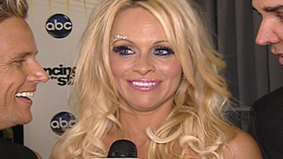Pamela Anderson Voted Off Dancing With The Stars Inside Edition