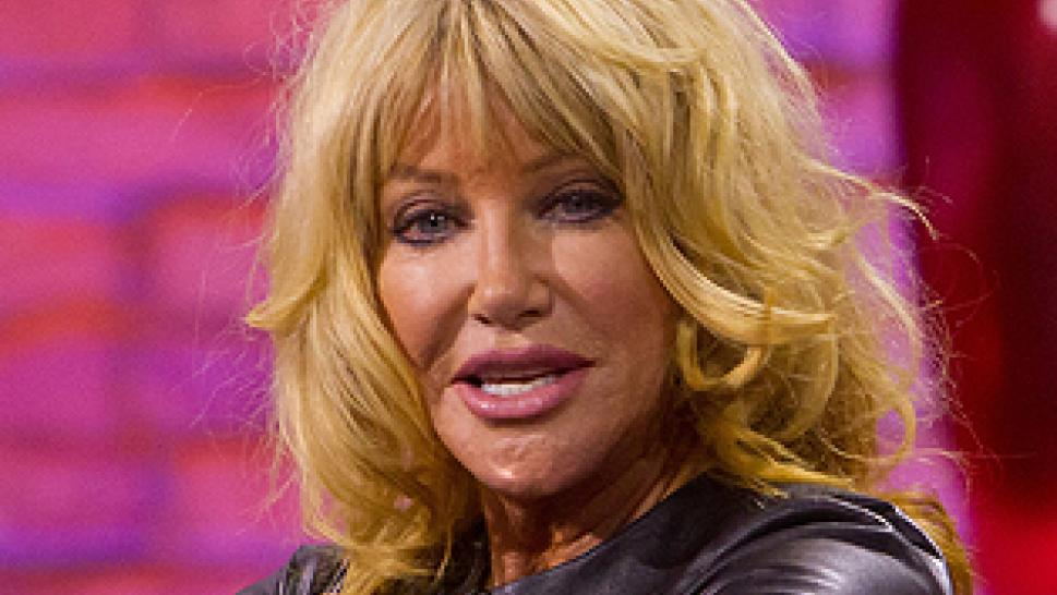 Suzanne Somers wet