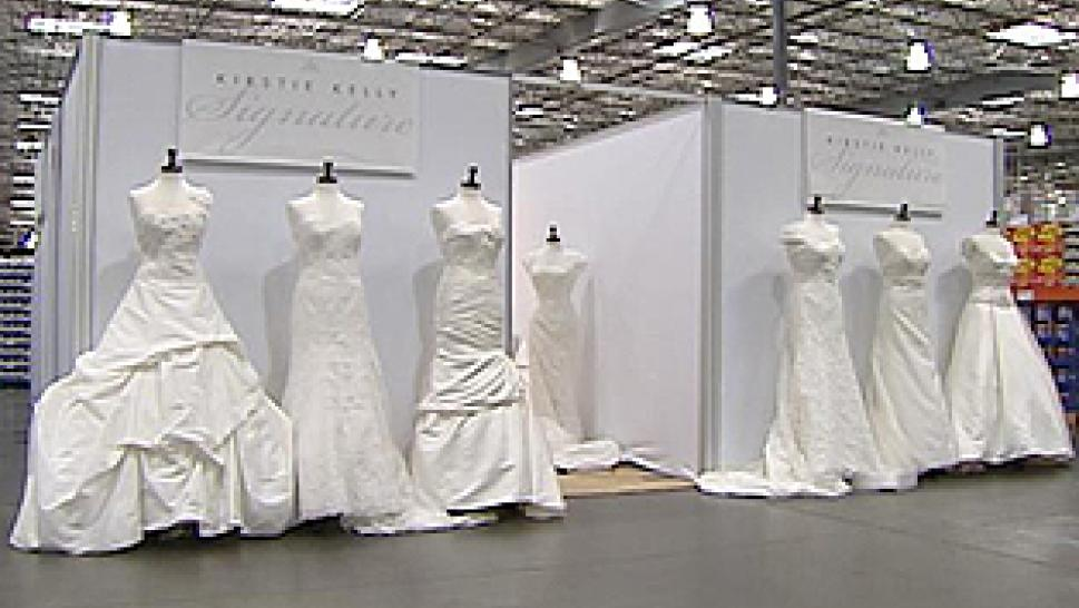 Designer Wedding Dresses Now Sold At Costco | Inside Edition
