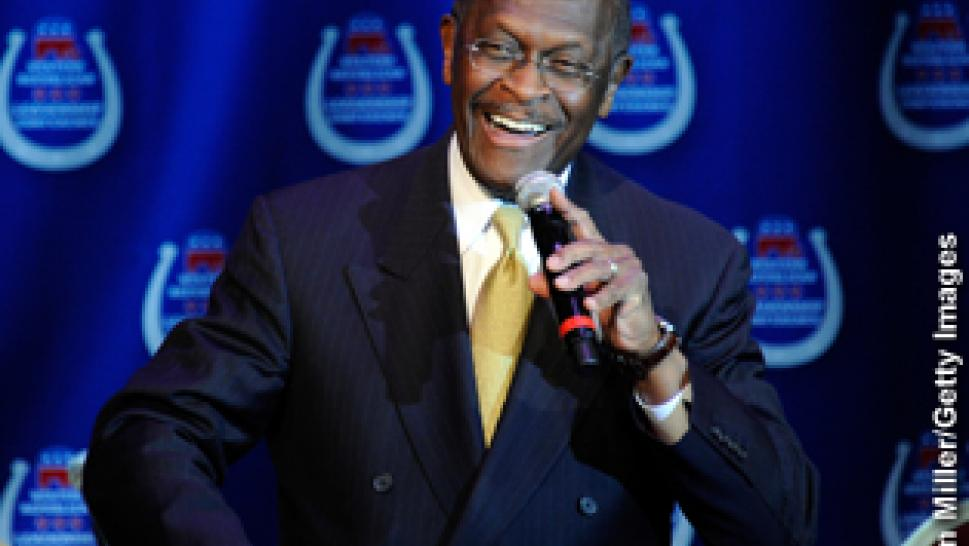 Herman Cain Smoking Ad Causes Controversy | Inside Edition