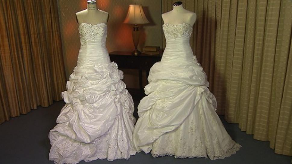 INSIDE EDITION Investigates Counterfeit Wedding Gowns | Inside Edition
