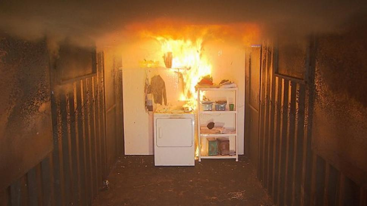 Inside Edition Investigates Dryer Fire Dangers Inside