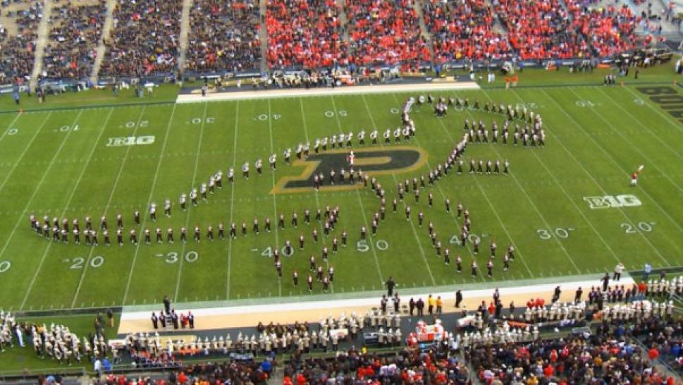 Ohio state jurassic park marching band