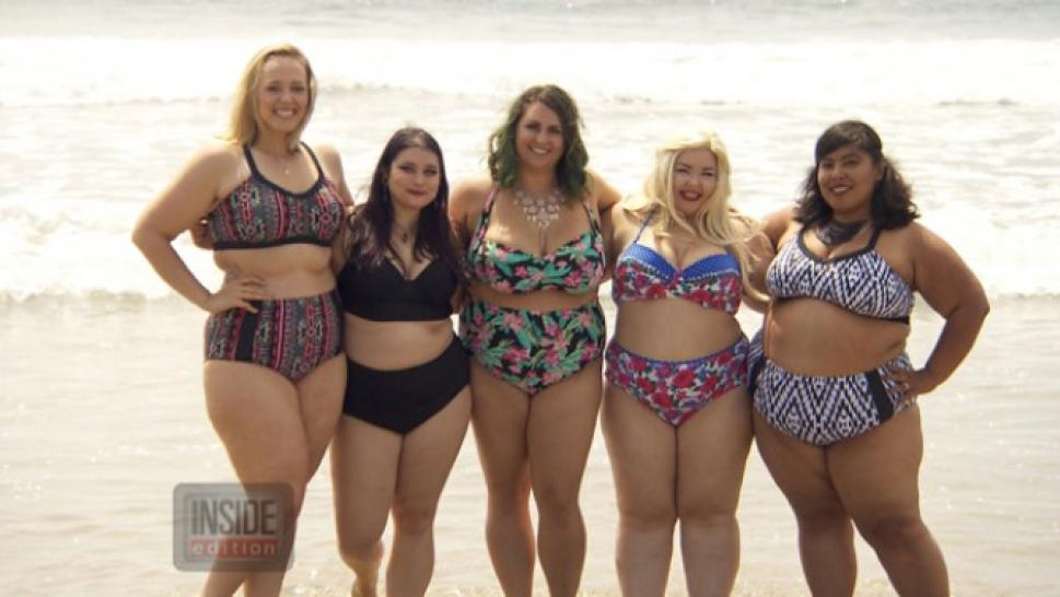 Fatkini The Beach As Overweight Women Show Off Curves