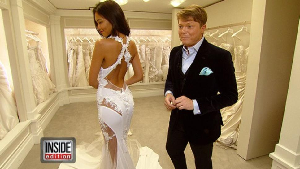 Sexiest Wedding Gowns Ever Inside Edition