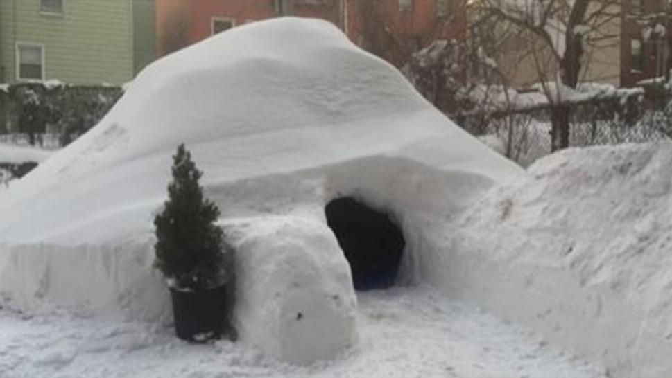New Yorkers Post 200 Igloo On Airbnb Snowpocalypse 2016