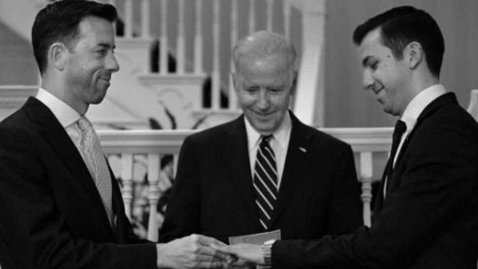 Vice President Joe Biden Performs SameSex Marriage at His Home