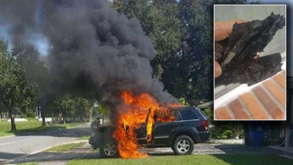 Family S Car Destroyed By Exploding Samsung Phone That Was Recalled 3 Days Earlier
