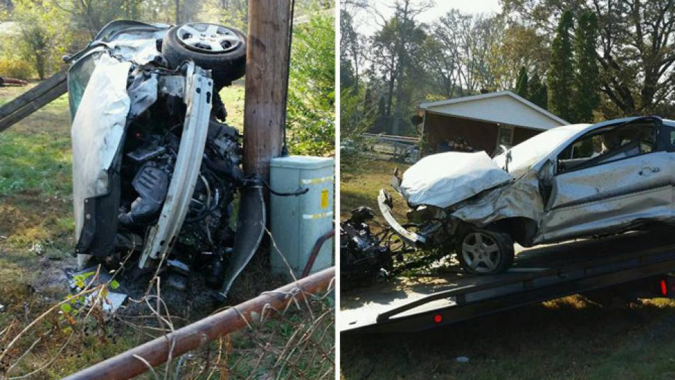 9 year old with autism takes car on joyride before crashing into