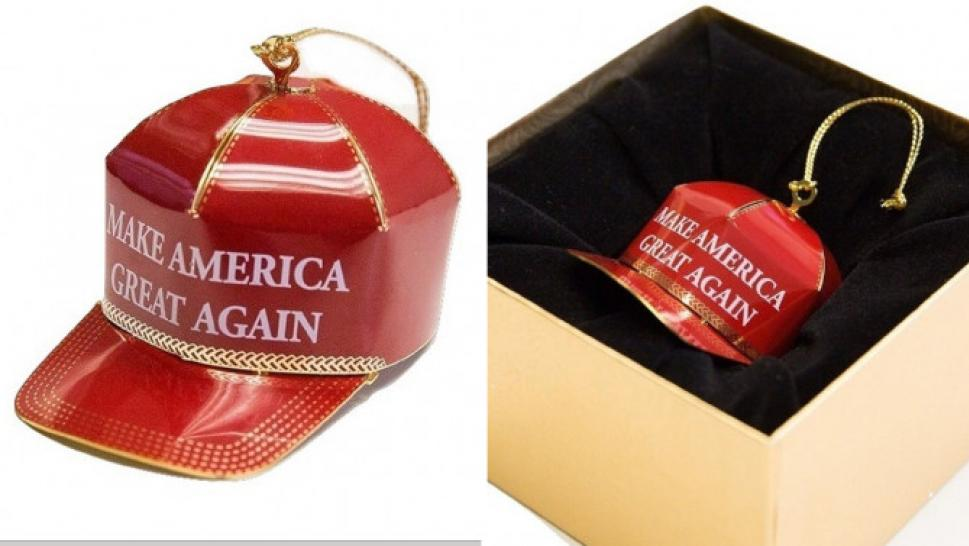 5eba6dae706 How About Hat   Make America Great Again  Ornament Receiving Politically  Charged Amazon Reviews