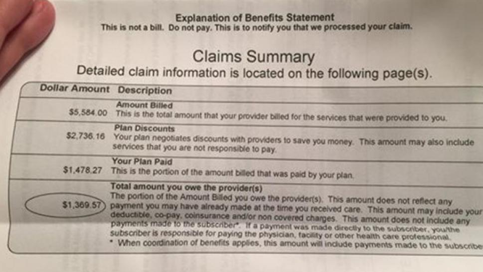 Woman Gets a Bill for More Than $1,000 After Miscarriage