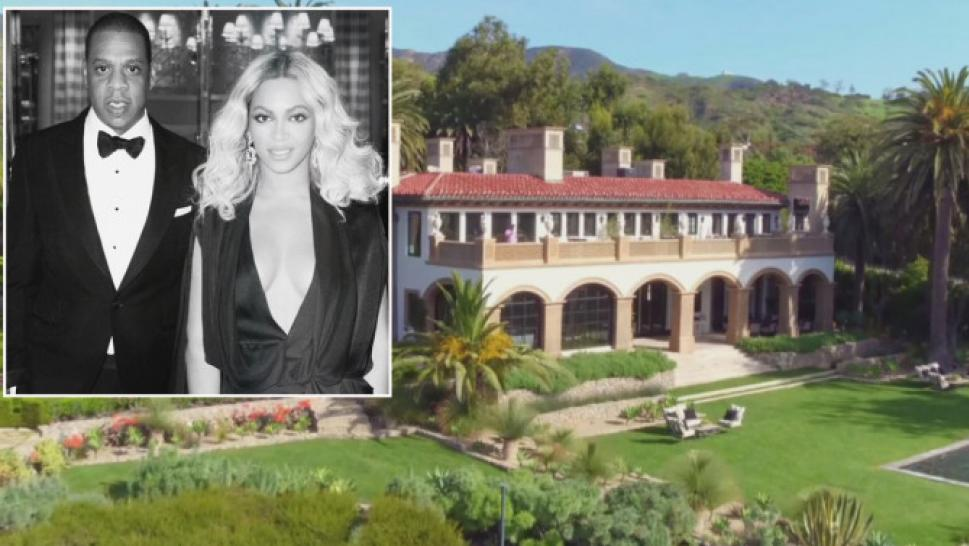 After Birth of Twins, Beyonce and Jay-Z Renting 10-Bedroom Malibu ...