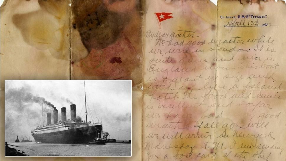 Titanic Passenger's Personal Letter Sold at Auction for Record Price