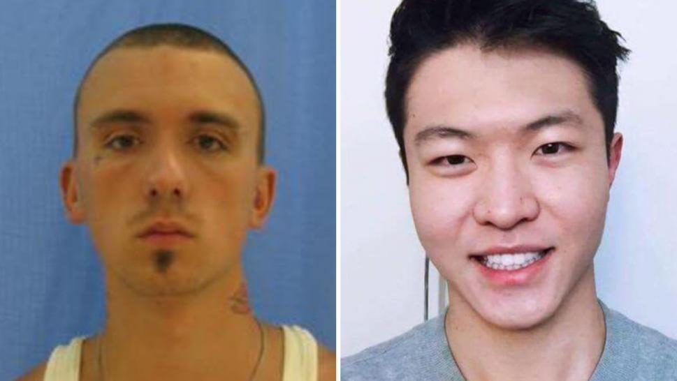 Austin Boutain, 24, is accused of shooting ChenWei Guo in an attempt to take the University of Utah computer-science student's car.
