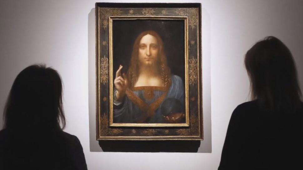 Leonardo work sells for record $450mn