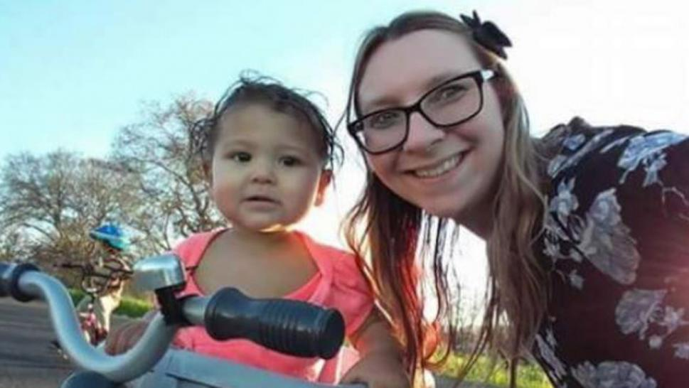 Sarah Rohde and her 19-month-old daughter, Ariana, died instantly at the scene.