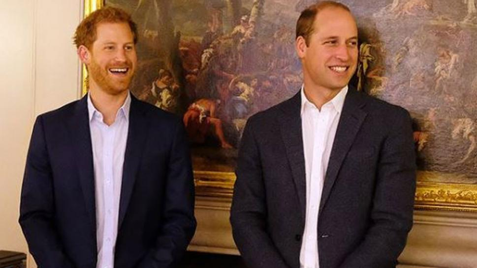 Harry and Will at Kensington Palace