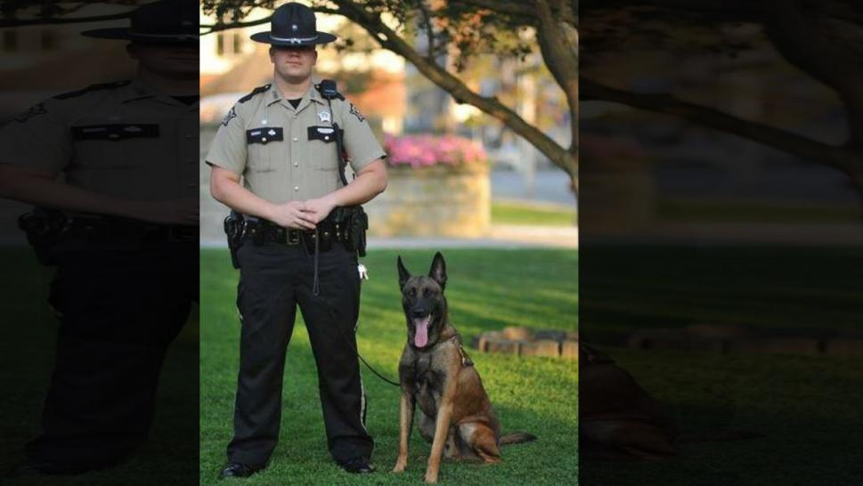 K9 Kane died in the line of duty.