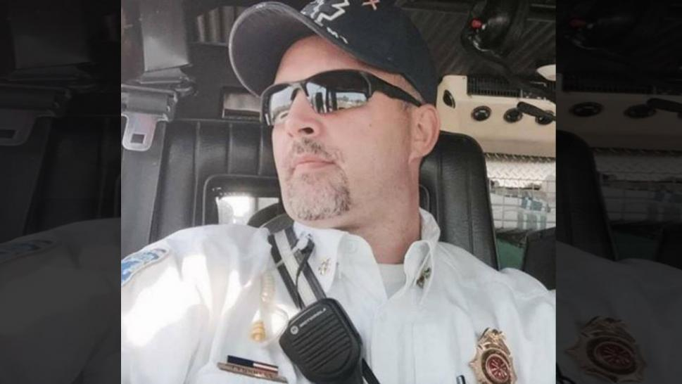 Alaska fire chief suffers heart attack after rescuing crash victim.