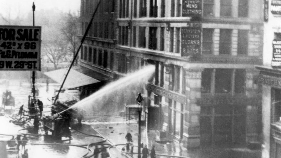 Bronx Fire That Killed 12 Is Latest in History of New York ... Triangle Shirtwaist Fire 1912