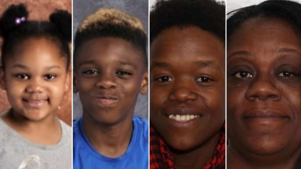 "Shanise Myers, 5, Jeremiah ""JJ"" Myers, 11, Brandi Mells, 22, and Shanta Myers, 36, were murdered in their Troy, N.Y. home."