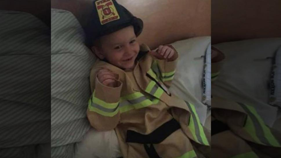 James Raugh, 4, Wanted More Than Anything to Be a Fireman