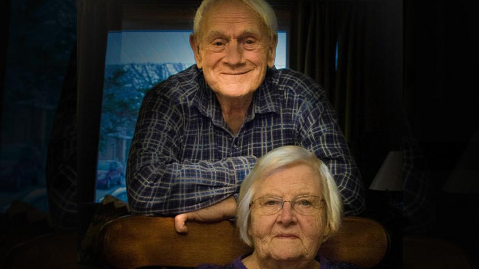 Grant Triebner and Ada Triebner (Photo: Haskett Funeral Home)