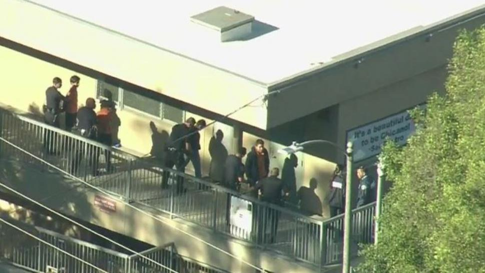 Five people were injured when a gun went off at a California middle school.
