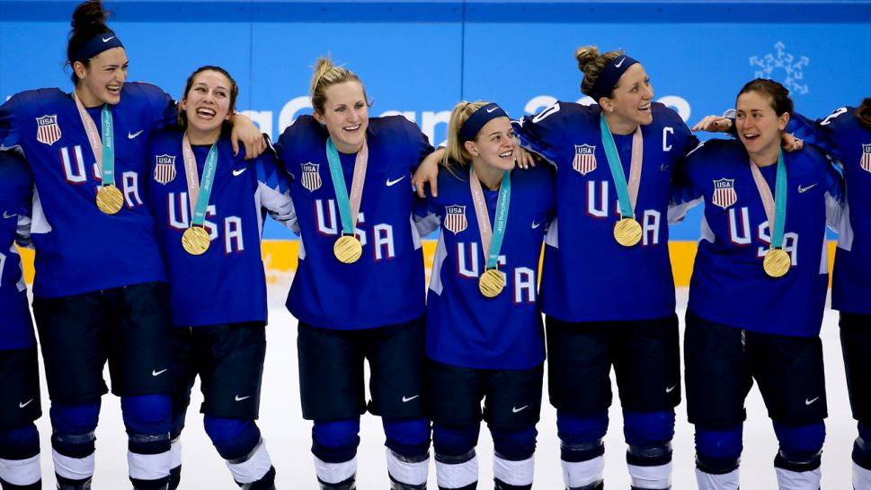 US curlers celebrate after beating Sweden in Olympic final, despite medal mishap