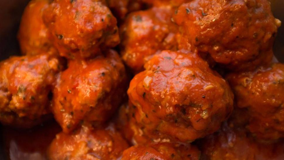 Pennsylvania man accused of stealing, eating a pot of meatballs.