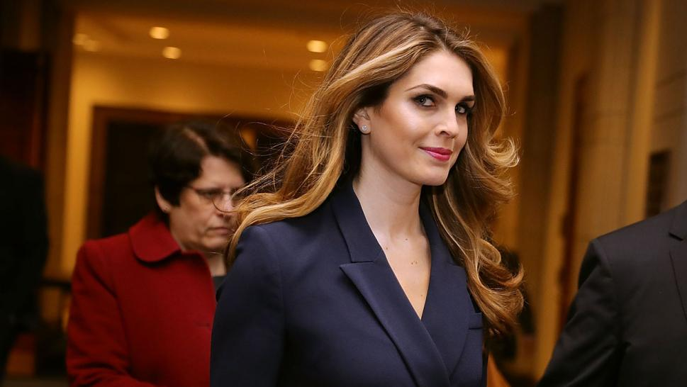Hope Hicks President Trumps Communications Director To