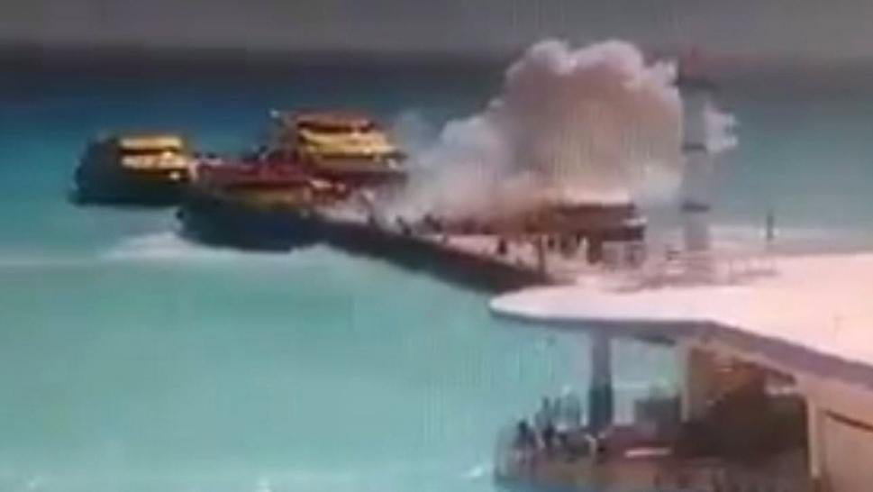Ferry Boat Explosion Sparks Mexico Travel Warning Ahead Of