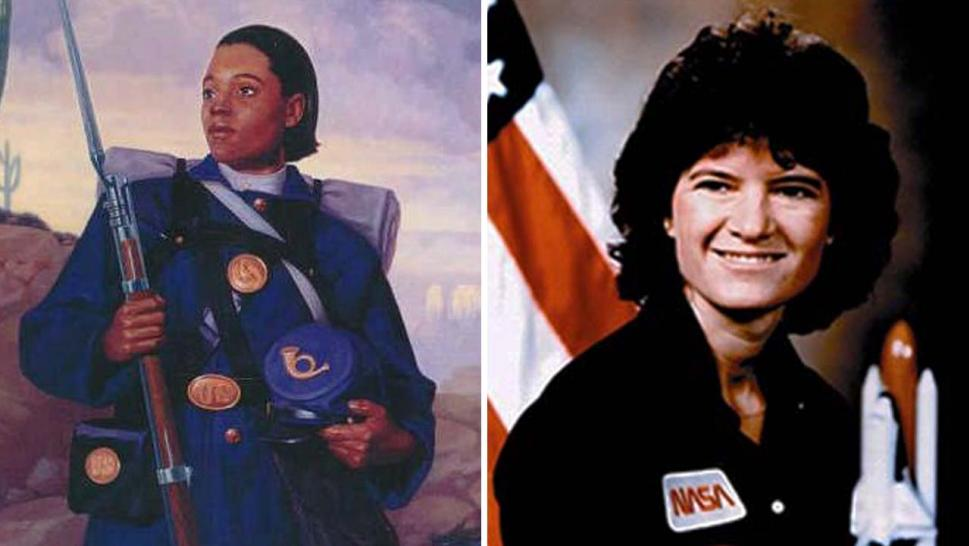 Cathay Williams and Sally Ride are among the many women trailblazers in the U.S.