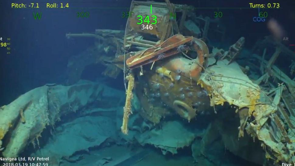 Sunken WWII ship on which 5 brothers died discovered in Pacific