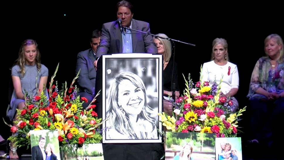 Hundreds turned out to mourn Jennifer Riordan, who died after Southwest jet engine exploded.