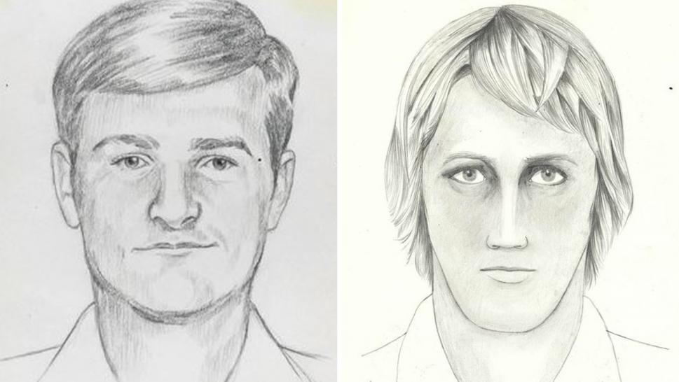 Sketches of the man known as the Golden State Killer or East Area Rapist