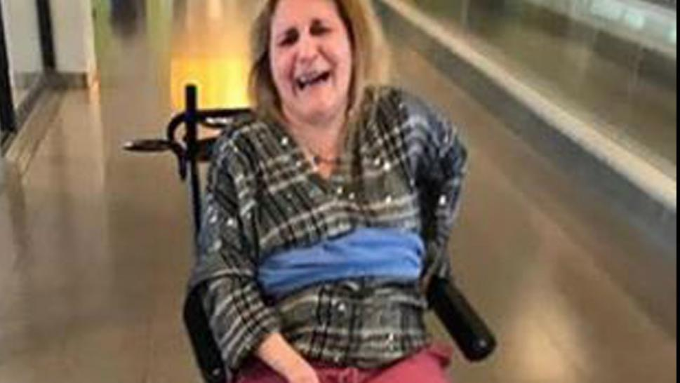 Family says Delta used blanket to tie woman to wheelchair