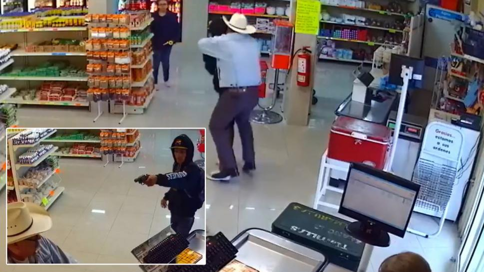 Hero in Cowboy Hat Foils Armed Grocery Store Robbery  bbb8248bf14